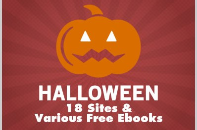 Halloween: 18 Sites & Various Free Ebooks