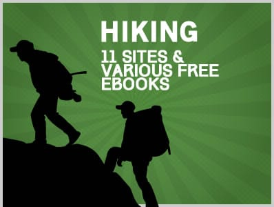 Hiking: 11 Sites & Various Free Ebooks