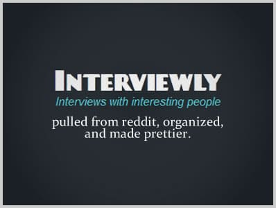 Interviewly – One Stop Hub for Author Interviews