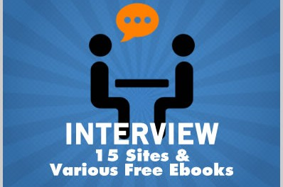 Interview: 15 Sites & Various Free Ebooks