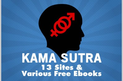 Kamasutra: 13 Sites & Various Free Ebooks