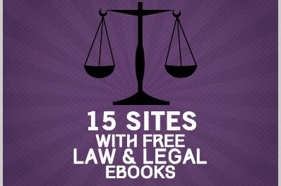 15 Sites With Free Law & Legal Ebooks