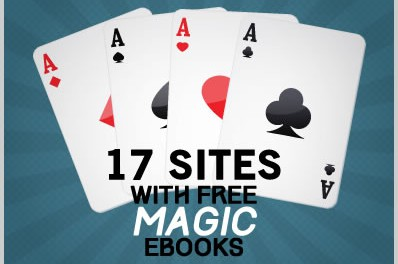 17 Sites With Free Magic Ebooks