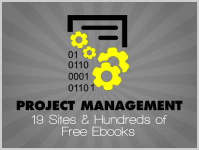 Project Management: 19 Sites & Hundreds of Free Ebooks