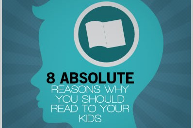 (Infographics) 8 Absolute Reasons Why You Should Read To Your Kids