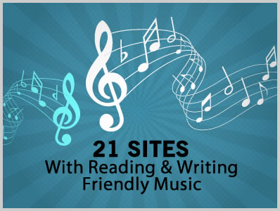 20 Sites with Reading / Writing Friendly Background Music