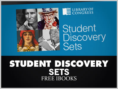 Student Discovery Sets – 12 Free iBooks by Library of Congress