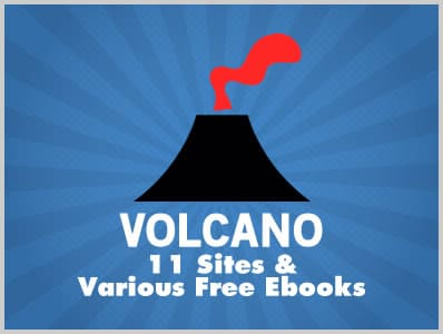 Volcano: 11 Sites & Various Free Ebooks