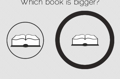 Which book is bigger?