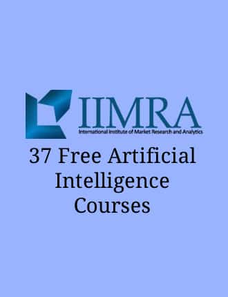 Click here to read / download 37 Free Artificial Intelligence Courses