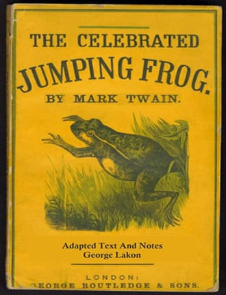 Click here to read / download The Celebrated Jumping Frog of Calaveras County