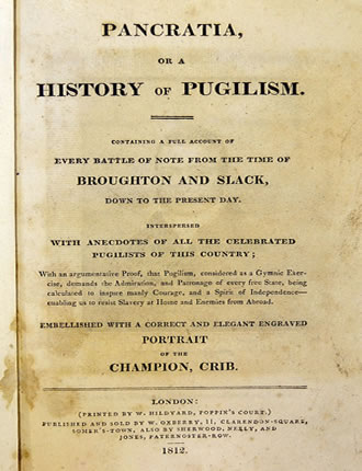 Click here to read / download Pancratia, Or, A History of Pugilism: Containing a Full Account of Every Battle of Note from the Time of Broughton and Slack Down to the Present Day