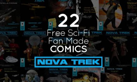 Novatrek: 22 Free Sci-Fi Fan Made Comic