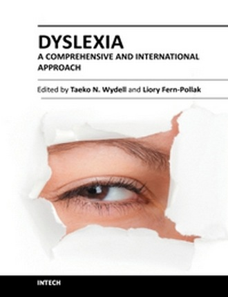 Dyslexia - A Comprehensive and International Approach by Taeko N. Wydell and Liory Fern-Pollak