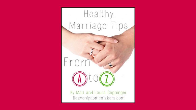 Healthy Marriage Tips from A to Z eBook