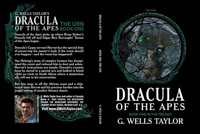 Dracula of the Apes Book 1: The Urn by G. Wells Taylor