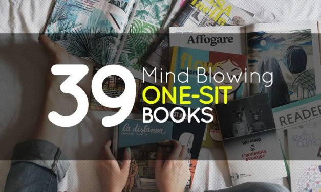 39 Mind Blowing One Sit Books