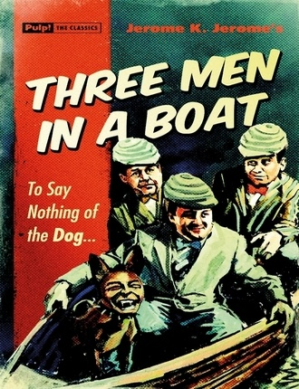 Three Men in a Boat (184 pages) by Jerome K. Jerome