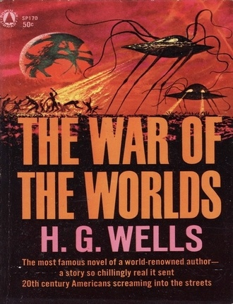 War of the Worlds (256 pages) by H.G. Wells