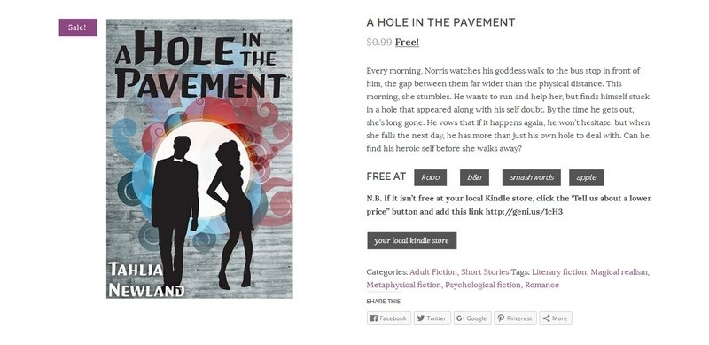 A Hole In The Pavement by Tahlia Newland