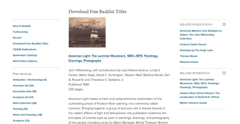 American Light: The Luminist Movement, 1850–1875: Paintings, Drawings, Photographs  by John Wilmerding, with contributions by Lisa Fellows Andrus, Linda S. Ferber, Albert Gelpi, David C. Huntington, Weston Naef, Barbara Novak, Earl A. Powell III, and Theodore E. Stebbins Jr.