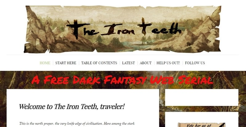 The Iron Teeth - A Free Dark Fantasy Web Serial by ClearMadness