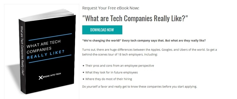 What are Tech Companies Really Like? by Break Into Tech
