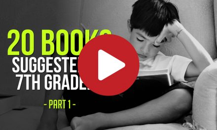 20 Books Suggested by 7th Graders – Part #1