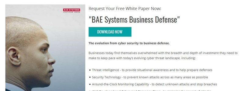 BAE Systems Business Defense by BAE Systems