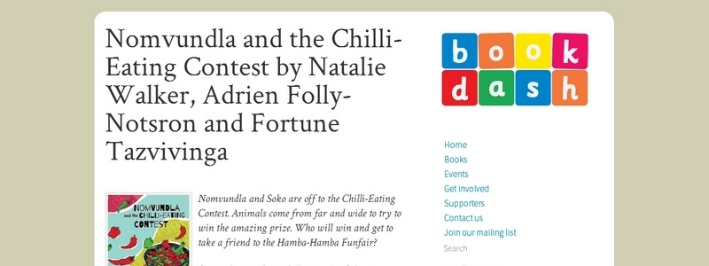 Nomvundla and the Chilli-Eating Contest by Natalie Walker, Adrien Folly-Notsron and Fortune Tazvivinga