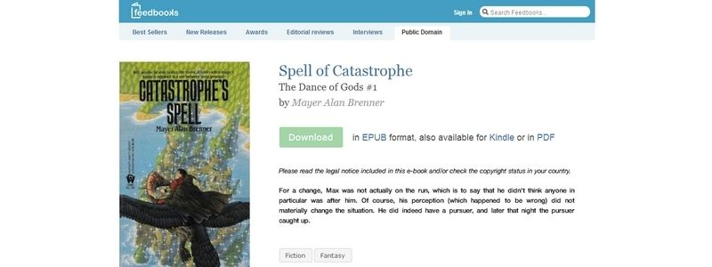 Spell of Catastrophe: The Dance of Gods #1 by Mayer Alan Brenner