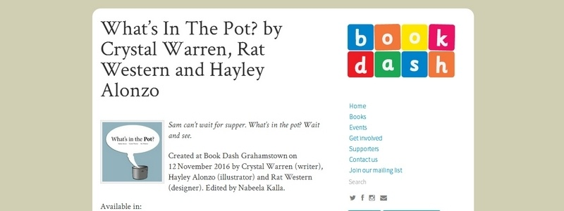 What's In The Pot? by Crystal Warren, Rat Western and Hayley Alonzo