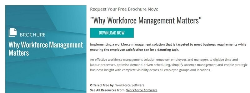 Why Workforce Management Matters by WorkForce Software