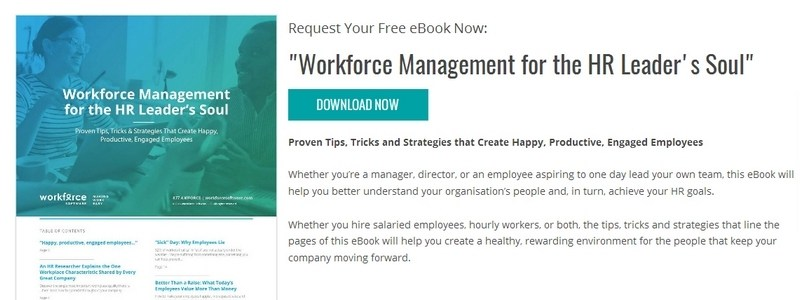 Workforce Management for the HR Leader's Soul by WorkForce Software