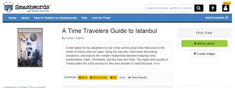 A Time Travelers Guide to Istanbul by Luther Hughes