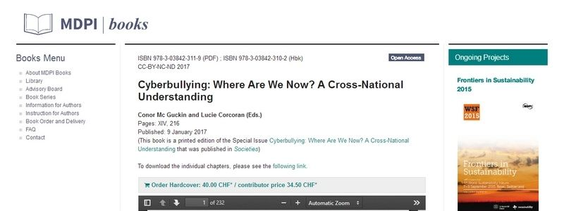 Cyberbullying: Where Are We Now? by Conor Mc Guckin, Lucie Corcoran