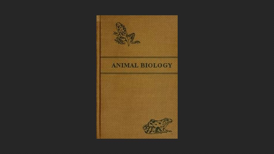 The Elements of Animal Biology