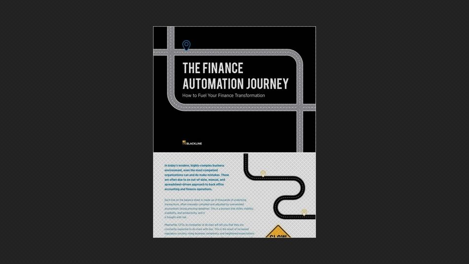 The Finance Automation Journey