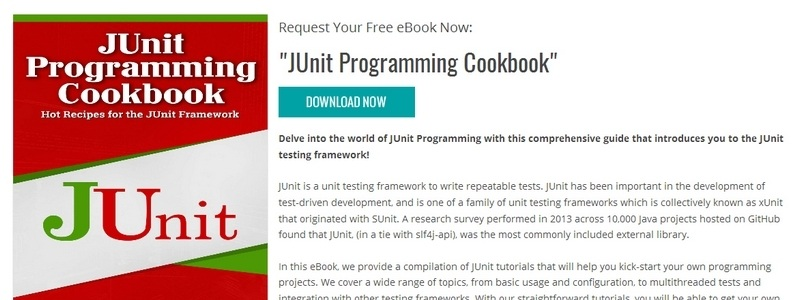JUnit Programming Cookbook by Java Code Geeks