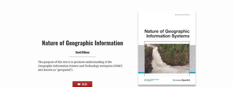 Nature of Geographic Information by David DiBiase