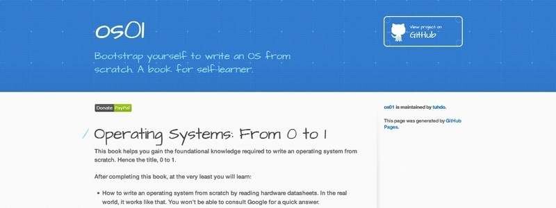 Operating System: From 0 to 1 by Tu, Do Hoang