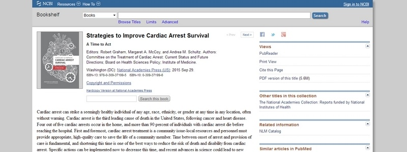 Strategies to Improve Cardiac Arrest Survival  by Committee on the Treatment of Cardiac Arrest
