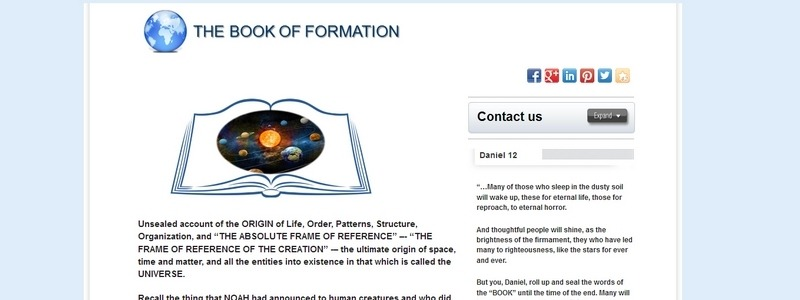 The Book of Formation by Book of Information
