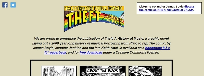 Theft! A History of Music by James Boyle, Jennifer Jenkins, Keith Aoki