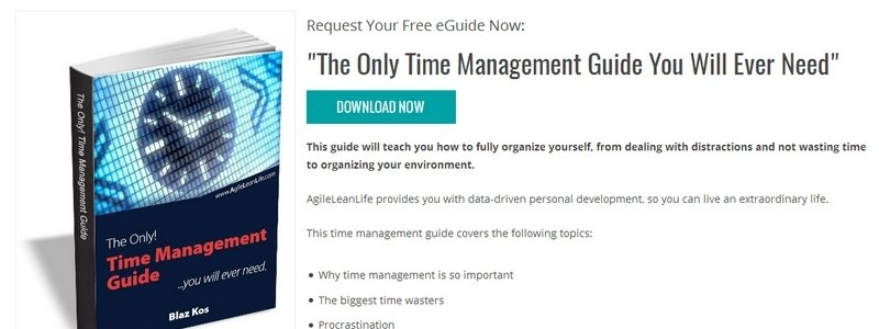 The Only Time Management Guide You Will Ever Need by AgileLeanLife Blog