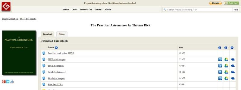 The Practical Astronomer by Thomas Dick