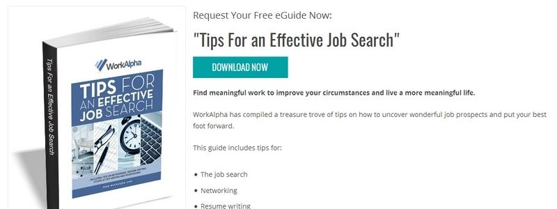 Tips For an Effective Job Search by WorkAlpha