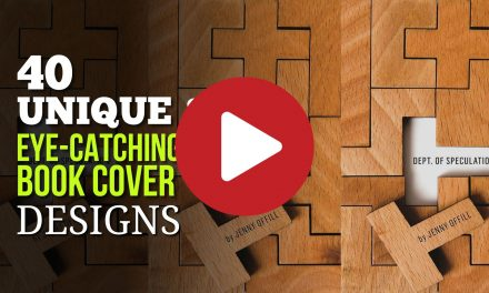 (Video) 40 Unique and Eye Catching Book Cover Designs