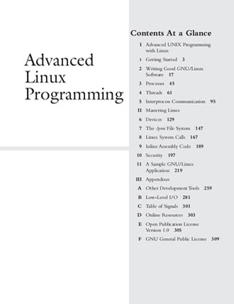 Advanced Linux Programming by Mark L. Mitchell, Alex Samuel, Jeffrey Oldham