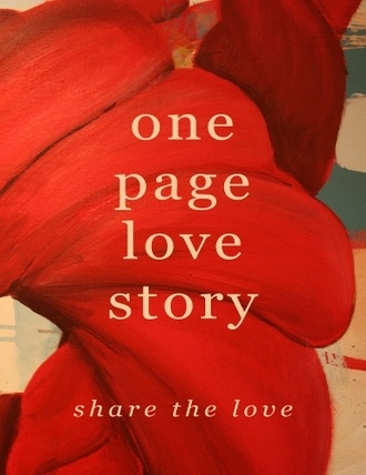 One Page Love Story by Rich Walls
